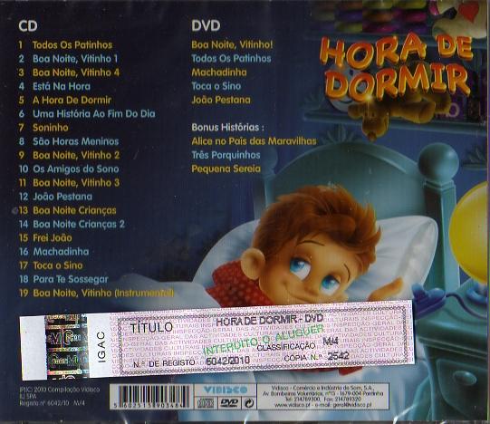 Hora de Dormir  CD + DVD