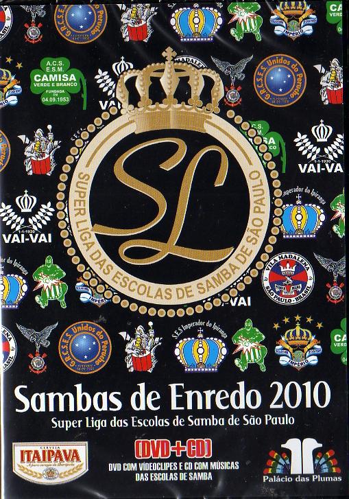 Super liga das escolas de samba de São Paulo DVD + CD