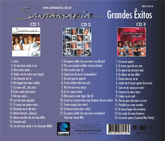 Pack Promocional - 3 Cds
