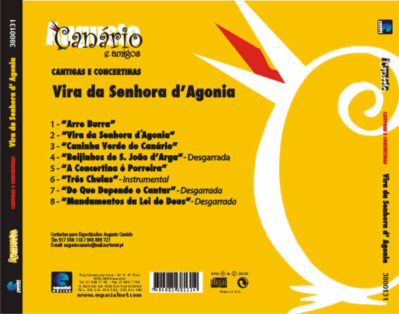 Vira da Senhora d Agonia - cantigas e concertinas
