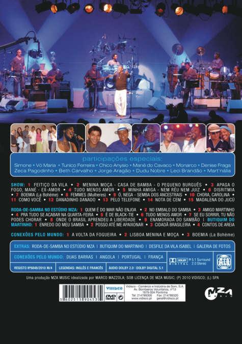 Conexões ao Vivo-DVD