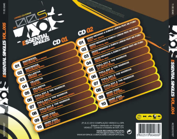 Kaos Essential Singles Vol. 005