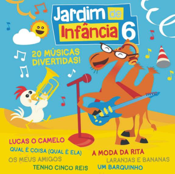 Jardim de Infância vol. 6 CD