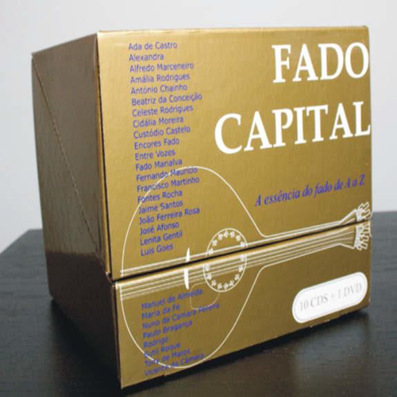 FADO CAPITAL-A Essência do Fado de A a Z - 10 cds + DVD