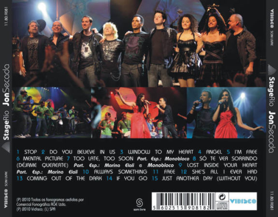 Stage Rio CD