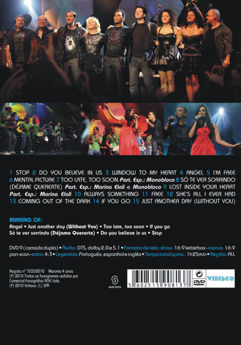 Stage Rio DVD