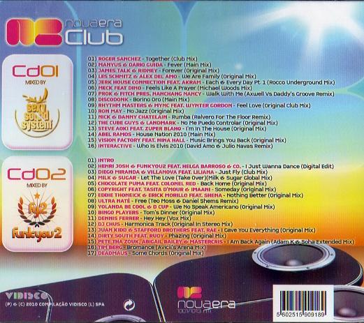NOVA ERA CLUB 2010 CD2
