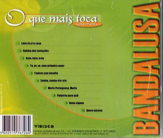 Bandalusa - O QUE MAIS TOCA