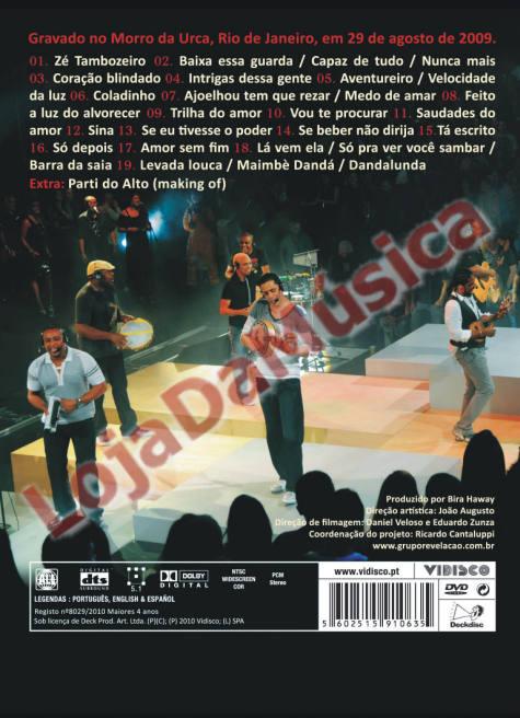 Ao Vivo no Morro DVD