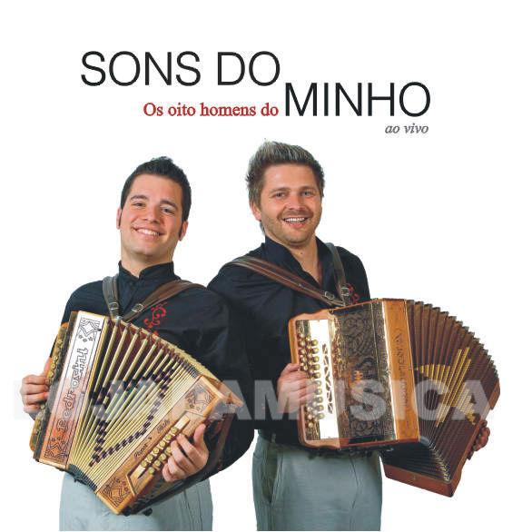 Os oito homens do Minho - Ao vivo - CD
