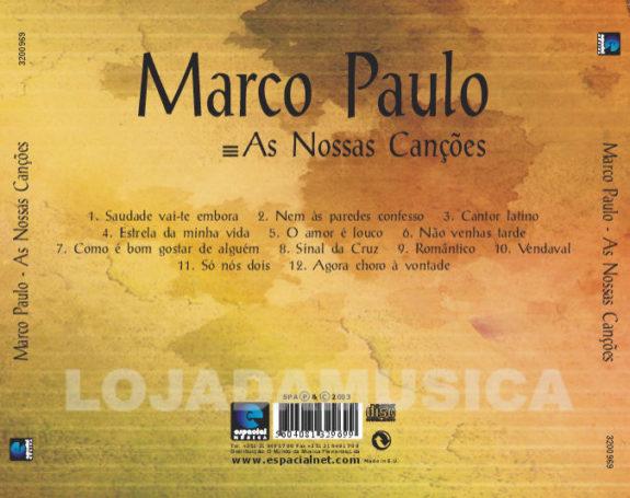 Marco Paulo - As nossas canções