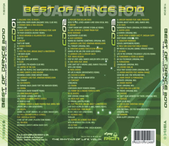 Best of Dance 2010 - The Rhythm OF Life Vol.9