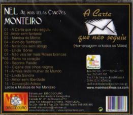A Carta Que Não Seguiu - 20 Anos a cantar Português