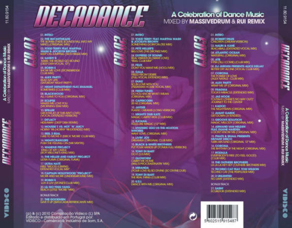 Decadance- MIXED BY RUI REMIX & MASSIVEDRUM