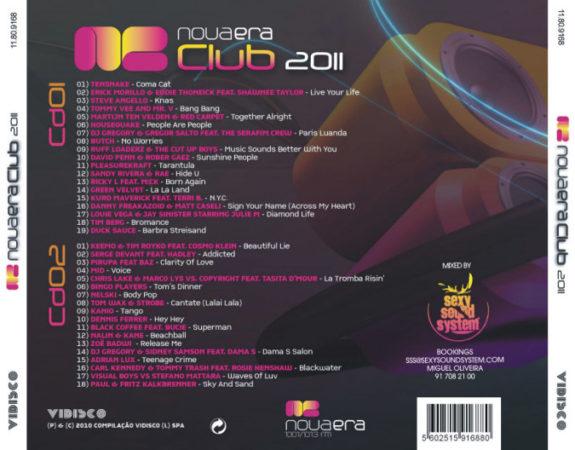 NOVA ERA CLUB 2011 - Mixed by Sexy Sound System