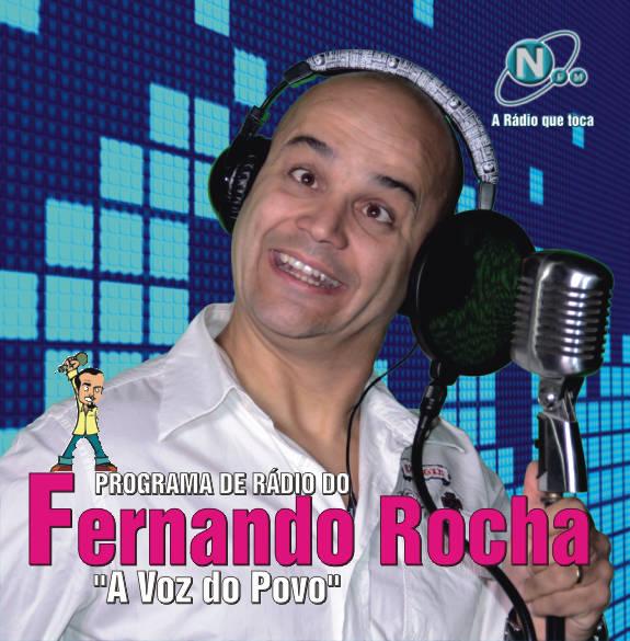 """Programa de rádio do Fernando Rocha - """"A voz do Povo"""""""