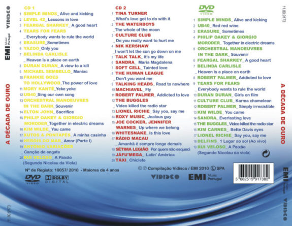 ANOS 80 - A DÉCADA DE OURO Vol.2