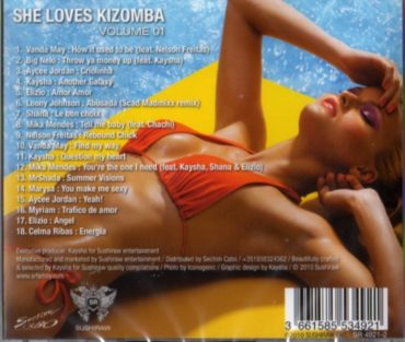 She Loves Kizomba - volume 01