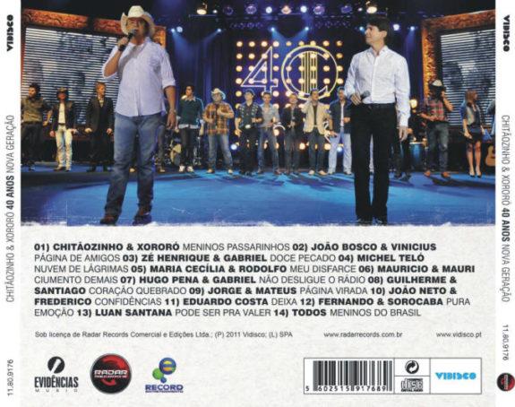 40 Anos - Nova Geração CD