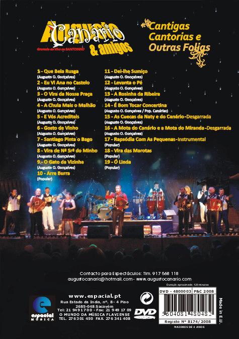 Ao vivo no Santoinho-DVD