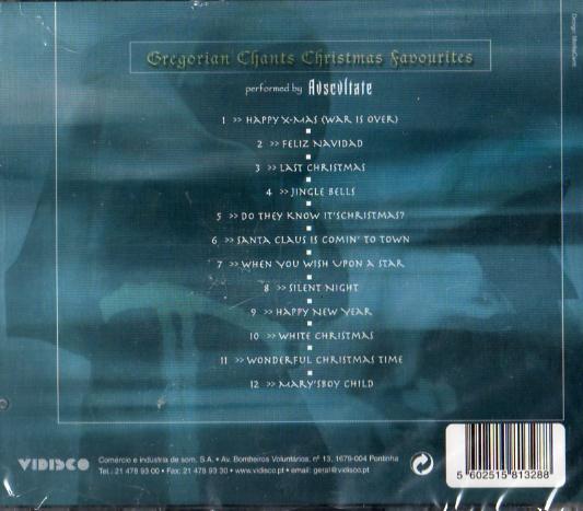 Gregorian Chants Christmas Favorites