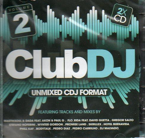 Club DJ 2 - Unmixed cdj format - cd duplo