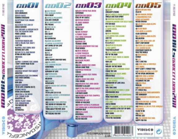 100 Hits Dancefloor 2011