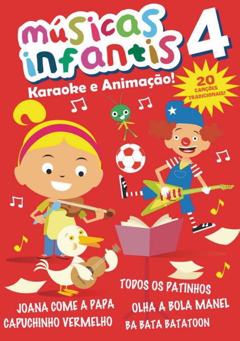 Músicas Infantis Vol. 4 DVD