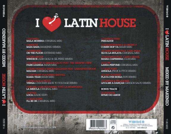 I LOVE LATIN HOUSE Mixed by MAKENZO