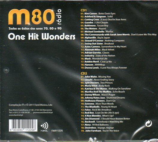 One Hit Wonders- cd duplo