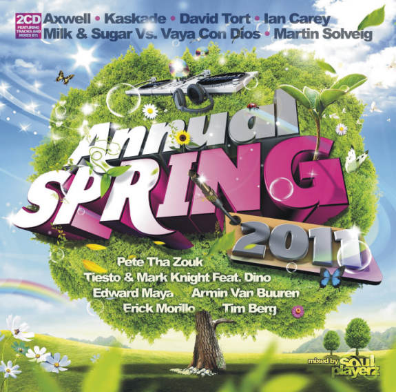 ANNUAL SPRING 2011 - Mixed by Soul Playerz