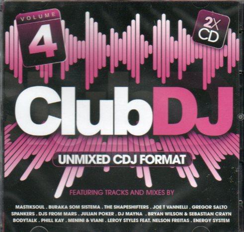 Club DJ 4 - Unmixed cdj format - cd duplo