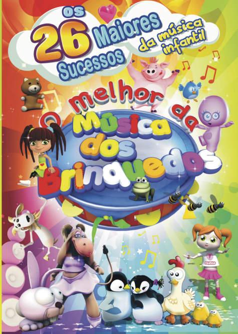 O MELHOR DA MÚSICA DOS BRINQUEDOS - OS 26 MAIORES SUCESSOS..