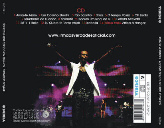 Ao vivo no Coliseu dos Recreios CD