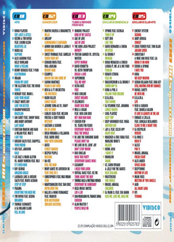 100 Hits Dancefloor Summer 2011