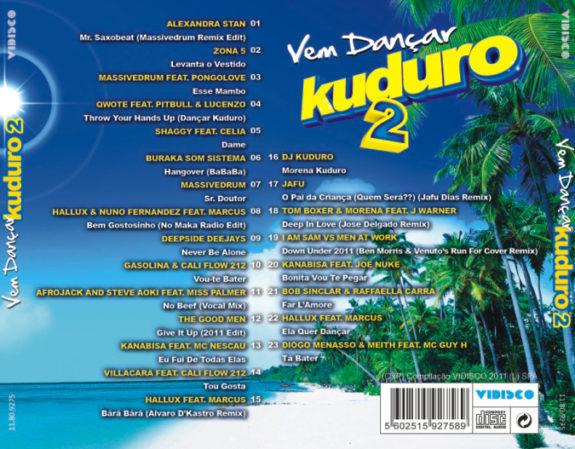 Vem dançar kuduro Vol. 2 CD