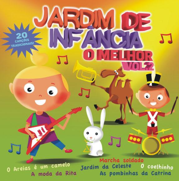 Jardim de Infância – O Melhor Vol.2 CD