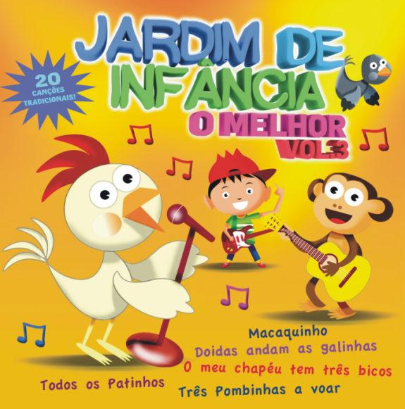 Jardim de Infância – O Melhor Vol.3CD