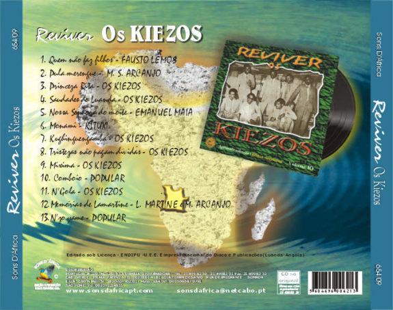 Reviver - Os Kiezos - Angola Anos de ouro