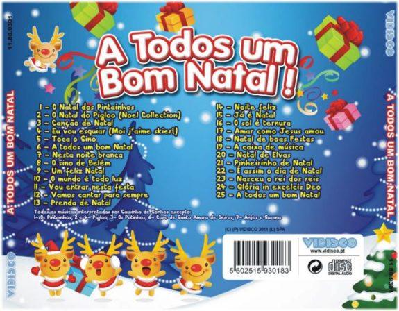 A Todos um bom Natal CD