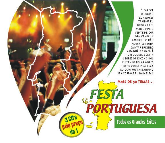 Festa Portuguesa - Todos os grandes êxitos - Pack 3 Cds