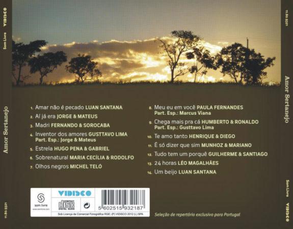 Amor sertanejo (CD)