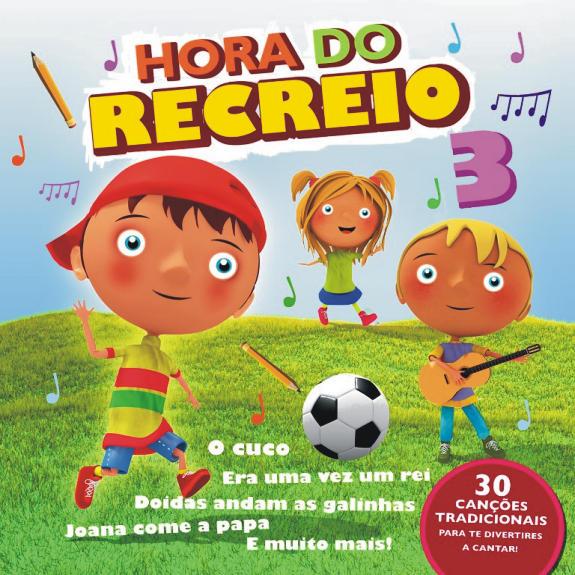 Hora do Recreio vol. 3-CD