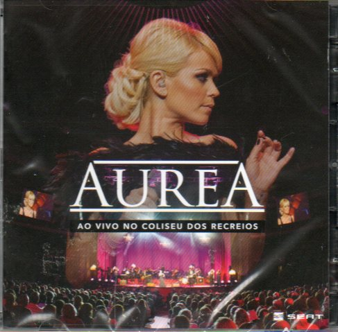Aurea - Ao Vivo no Coliseu dos Recreios CD+DVD