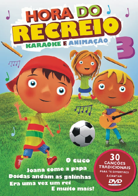 Hora do recreio Vol. 3-DVD