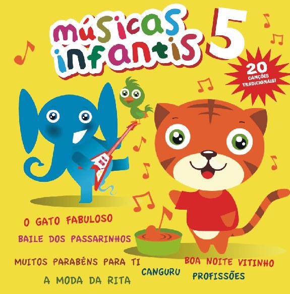 Musicas Infantis vol. 5 DVD