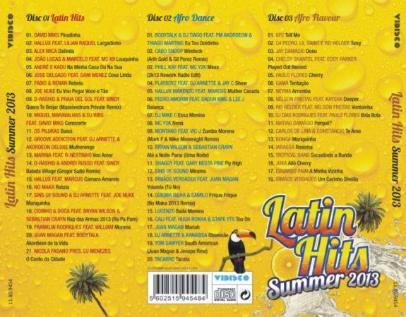Latin Hits Summer 2013