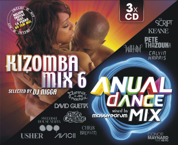 Kizomba Mix 6 - Anual Dance Mix (Pack)