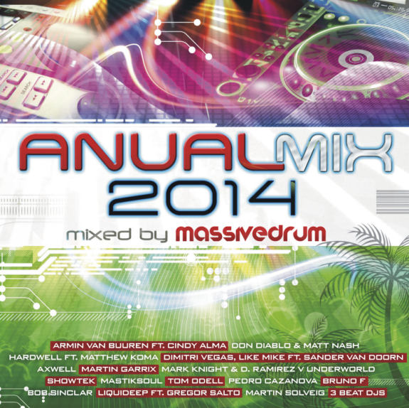 Anual Mix 2014 - Mixed by Massivedrum