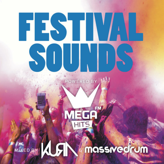 Festival Sounds Powered by Mega Hits FM (2CD) - Mixed by Massivedrum and Kura